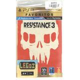 Resistance 3 - Ps3 Disco Sellado Legoz Zqz Ref - 379