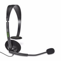 Fone De Ouvido Headset Xbox 360 Original Microsoft Preto