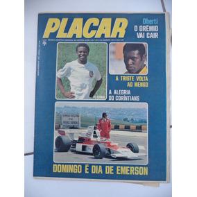 Revista Placar Nº 201 = Ano 1974 Fio Maravilha Do Flamengo