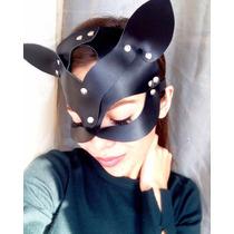 Mascara Antifaz Gatubela Cuero Sintético - Disfraz, Cosplay