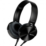 Fone De Ouvido Headphone Sony Extra Bass Mdr Xb450ap Preto