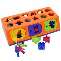 Caixa Encaixa Estrela Jogos Educativos