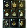 15 Relógios De Bolso Heritage Coleção Mecanismo Corda