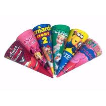 50 Cones Para Guloseima Personalizada Lembrança Frete Barato