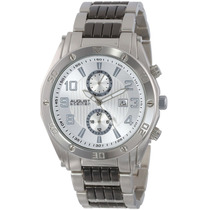 August Steiner Hombre As8070ss Suizo Multi-function Silver-t