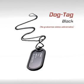 Dog Tags Militar Placas Identificacion Chapas Tactico Gotcha