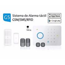 Sistema De Alarma Inalambrica Gsm Tactil Casa Oficina Local