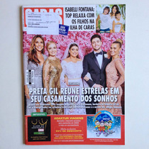 Revista Caras Preta Gil Angélica Ivete Sangalo Anitta Nº1124