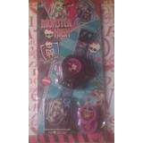 Lanza Tazos De Monster High