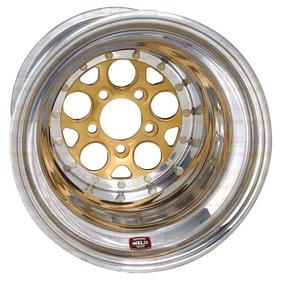 Roda Weld Magnum Gold Drag 2.0 15x10 5x4.5 5,0bs