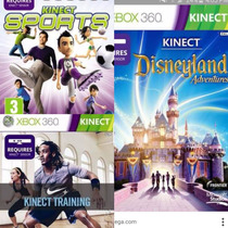 Pack Juegos Xbox Kinect Nike+disney+sports Originales