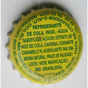 Tampinhas Antigas - Refrigerante Coca-cola (fab Santa Maria)