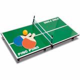 Juego Ping Pong De Sobremesa Portatil Delivery!