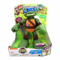 Leonardo Mega Tortugas Ninja Half Shell Heroes Remate 50%