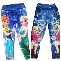Calça Legging Jeans Fake Infantil Atacado Revenda
