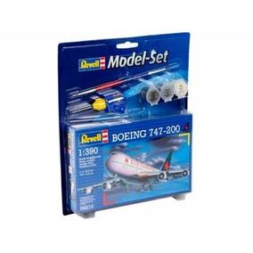 Model Set Boeing 747-200 1/390 Miniatura Revell Rev64210