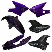 Kit De Carenagem - Yamaha Ybr 125 Factor - Adesivado