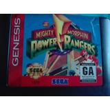 Power Rangers Sega Génesis