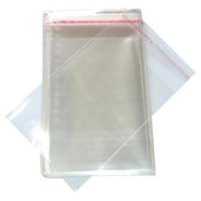 600 Envelope Saquinho Plastico Dvd/cd 14x20cm + Aba Adesiva