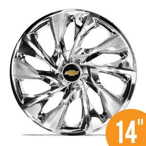 Carlota Esportiv 14 Ds4 Cromada Chrome Gm Corsa Prisma Celta