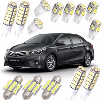 Kit Super Led Corolla 2014 2015 2016 Alto Brilho Forte Xenon