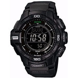 Reloj Casio Pro Tek Triple Sensor Version 3 Con Tough Solar