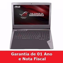 Notebook Asus Rog G752vy Rh71 17.3 Gamer I7 6700hq Gtx980m