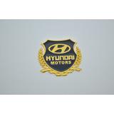 Emblema Hyundai Motors I30 Hb20 Veloster Ix35 Tucson Azera