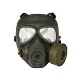 Máscara Airsoft Fma Modelo Anti Gás Verde