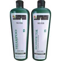 Kit Progressiva Alise Silver S/formol Carbocisteina 1litro