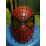Juguete De Coleccion Mascara Spiderman Hombre Araña