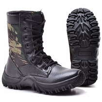 Coturno Bota Militar Infantil Menino Masculino Feminino Pro
