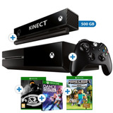 Consola Xbox One + Kinect + Halo Mcc + Dance + Minecraft