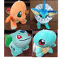 Pokemon Peluches 20cm Bulbasaur Squirtle Charmander Vaporeon
