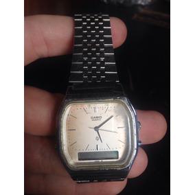 Relógio De Pulso Casio Antigo Digital E Ponteiro