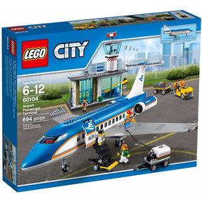 Lego 60104 Terminal Y Avión De Pasajeros City, Env. Grátis