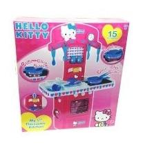 Cocina Hello Kitty Electronica Luz Sonido Accesoriosoriginal