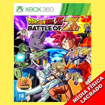 Dragon Ball Z Battle Of Z Xbox 360 Original E Lacrado