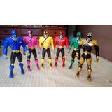 Power Ranger X 6 De Bandai
