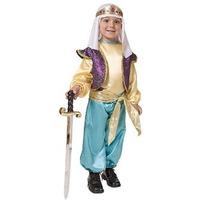Disfraz Para Niño Traje Árabe Sultan Niños - Niño 2t
