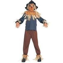 Disfraz Asistente De Vestuario Espantapájaros De Oz Hijo, P