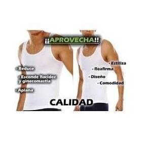 Camiseta Reductora Faja Moldeadora De Abdomen Y Pechos.