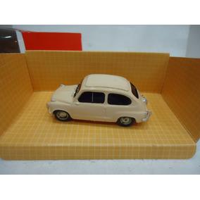 Fiat 600 Bolita 1963 Crema 1/43 Bellisima