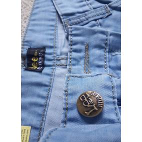 Nova Calça Azul Lee Riders Jeans Fino E Leve M A P Importada