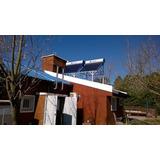 Termotanque Solar 210 Lts Apoyo Calefaccion O Presurizacion