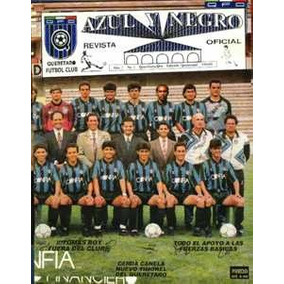 La Revista Azul Y Negro Oficial, Querétaro Fútbol En Pdf