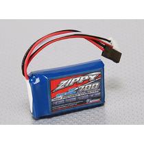 Bateria Life 700mah 2s 5c 6.6v Zippy Radio Receptor