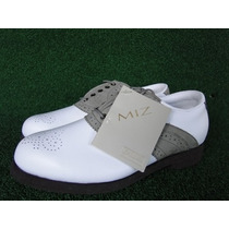 Sapato Mizuno P/ Golf Collection Miz Tam 34 Fem Novo Golfe