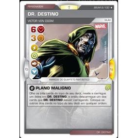 Card Battle Scene Dr. Destino - Plano Maligno Rarissima