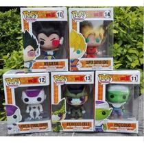 Figuras Dragon Ball Z Funko Pop 5 Muñecos Goku , Vegeta,